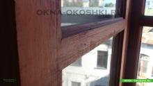 Реставрация окон и балкона